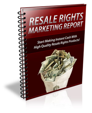 Resale Rights Marketing
